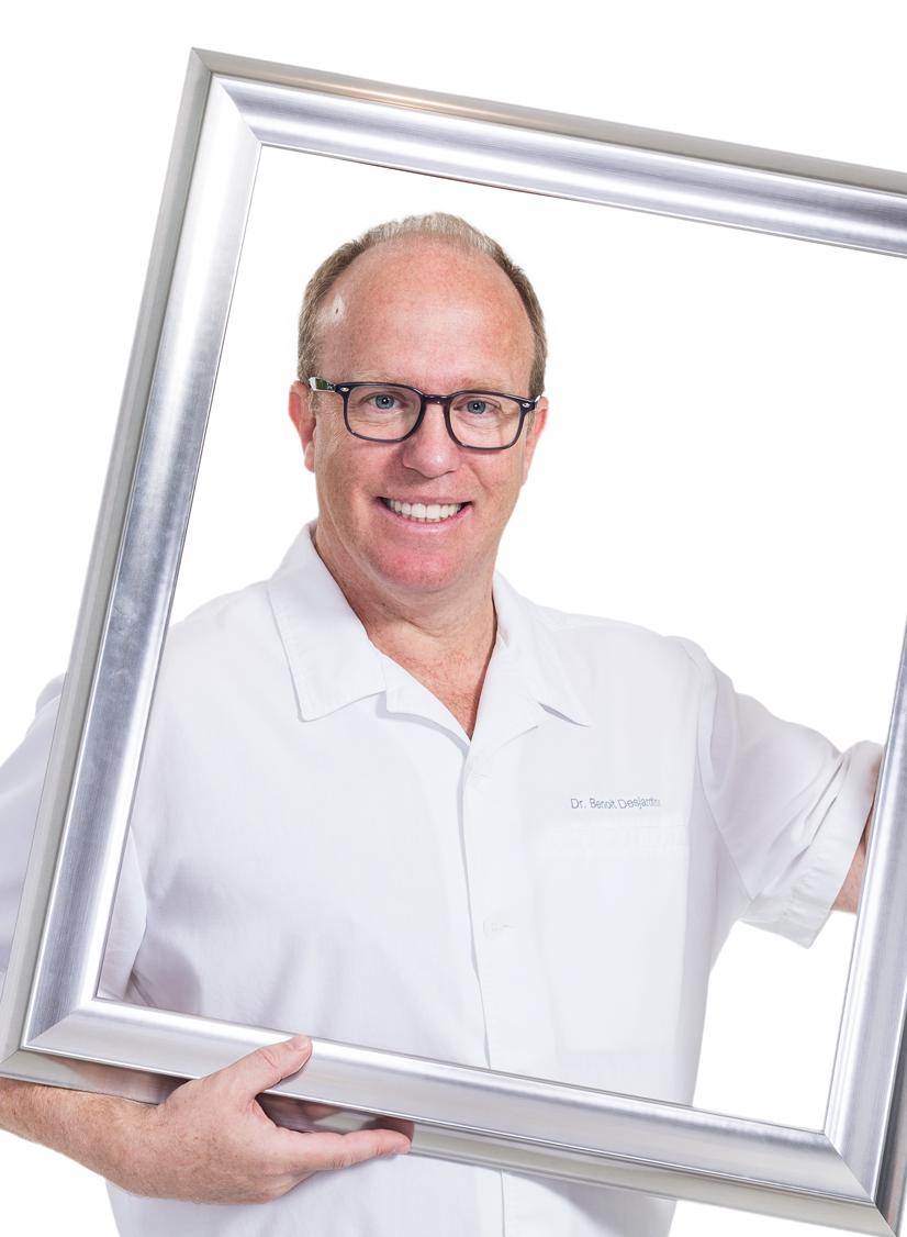 Dr. Benoit Desjardins, chirurgien-dentiste